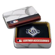 Tampa Bay Rays Leather Bifold Wallet