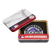 Colorado Rockies Leather Bifold Wallet