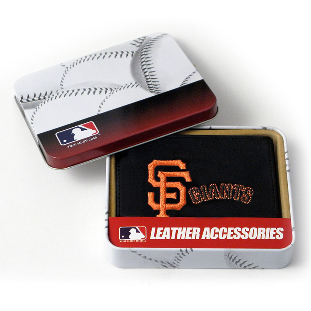 San Francisco Giants Leather Bifold Wallet