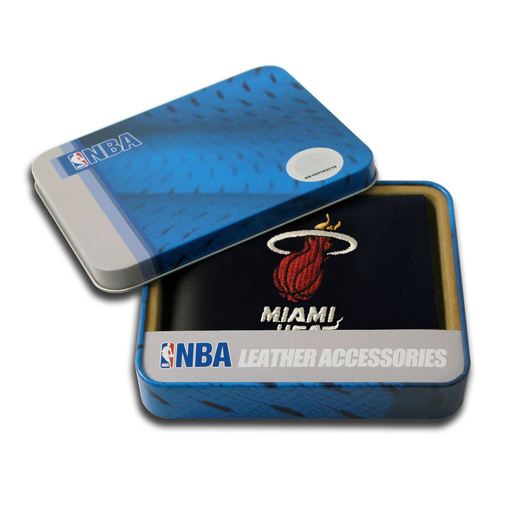Miami Heat Leather Bifold Wallet