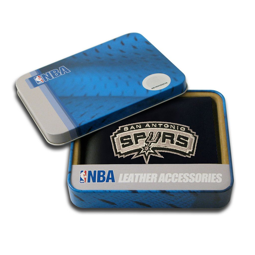 San Antonio Spurs Bifold Leather Wallet