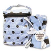 Trend Lab Max Bottle Bag and Burp Cloth Set