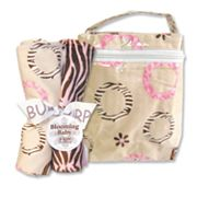 Trend Lab Sweet Safari Bottle Bag and Burp Cloth Set