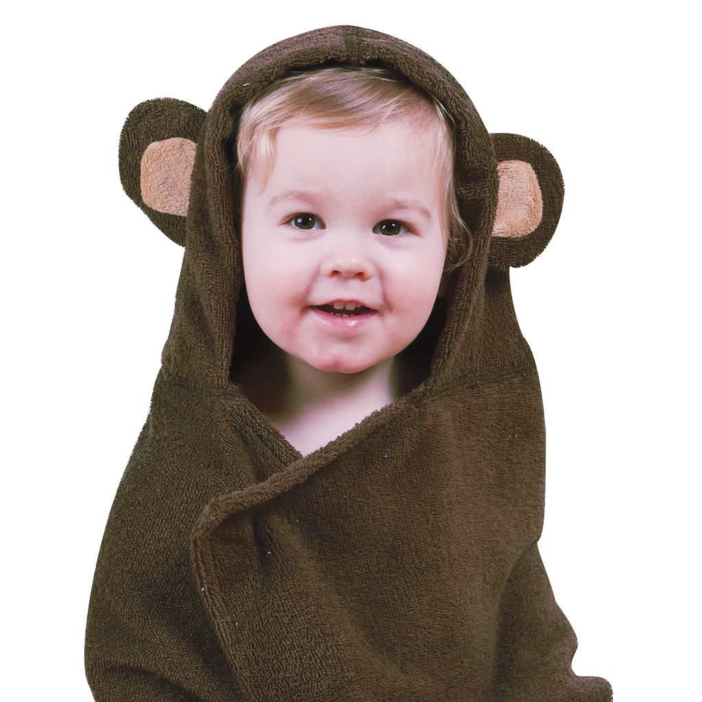 Trend Lab Monkey Hooded Towel