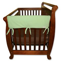 Trend Lab 2 pkSolid Convertible Crib Side Rail Covers
