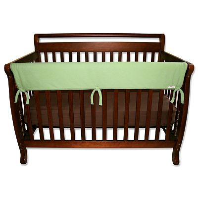 Trend Lab Solid Convertible Crib Rail Cover