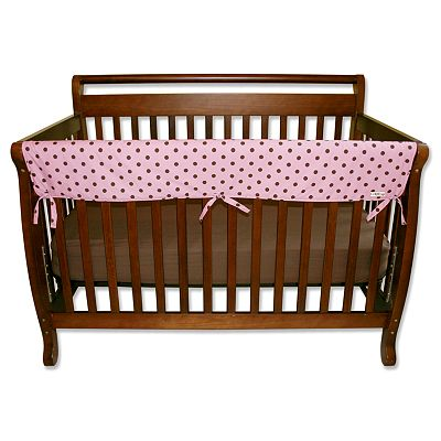 Trend Lab Polka-Dot Convertible Crib Rail Cover