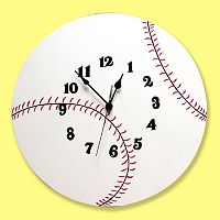 Trend Lab® Baseball Wall Clock