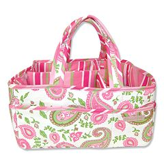 Trend Lab Paisley Diaper Storage Caddy