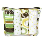 Trend Lab Giggles Burp Cloth Set