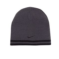 Nike Reversible Striped Beanie Hat