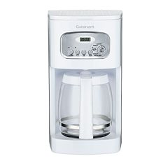 Cuisinart White 12 cupProgrammable Coffee Maker