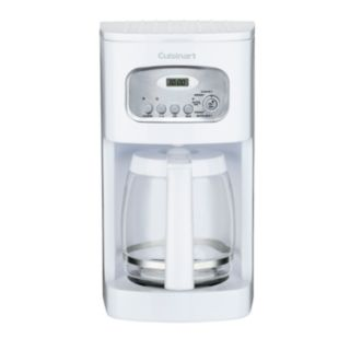 Cuisinart White 12-Cup Programmable Coffee Maker