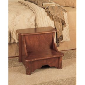 Woodbury Mahogany Bed Step