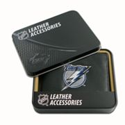 Tampa Bay Lightning Leather Wallet