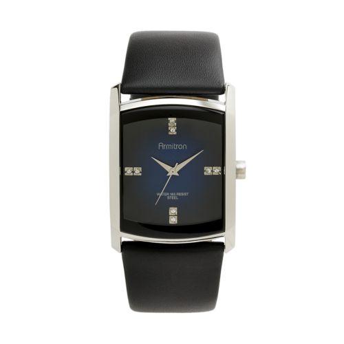 Armitron Stainless Steel Crystal Watch - Men