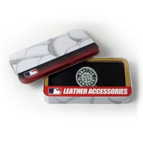 Seattle Mariners Leather Checkbook Wallet