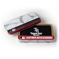 Tampa Bay Rays Leather Checkbook Wallet