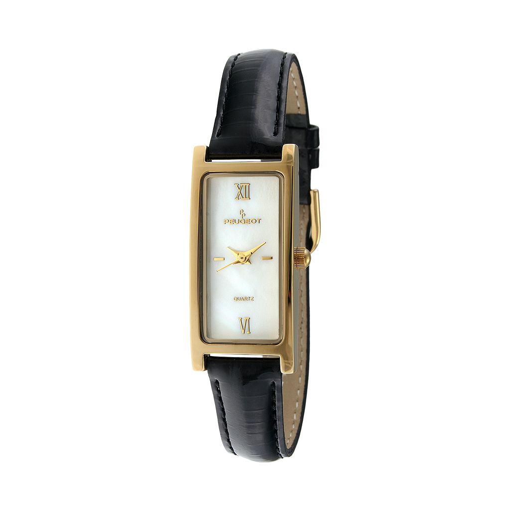 Peugeot Women's Leather Watch - 3017BK