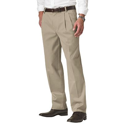 Dockers D3 Classic-Fit Signature Khaki Pleated Pants - Big and Tall