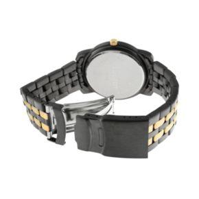 Peugeot Men's Two Tone Watch - 1019G