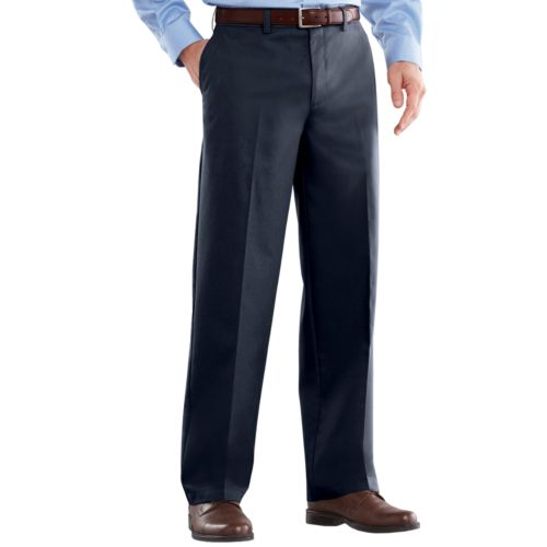 Men's Croft & Barrow® Easy-Care Stretch Classic-Fit Flat-Front Pants