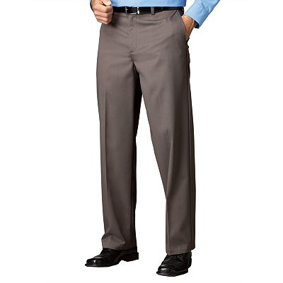 Croft and Barrow Easy-Care Classic-Fit Flat-Front Pants
