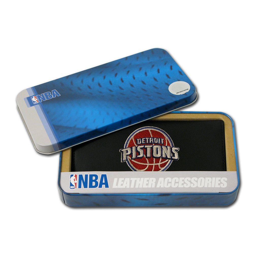 Detroit Pistons Checkbook Wallet