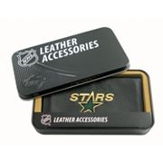 Dallas Stars Leather Checkbook Wallet
