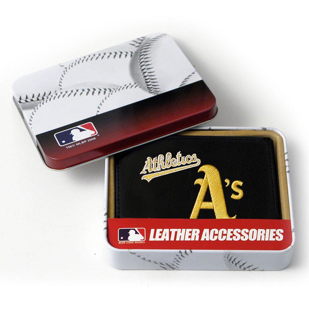 Oakland Athletics Trifold Wallet