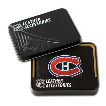 Montreal CanadiensLeather Trifold Wallet