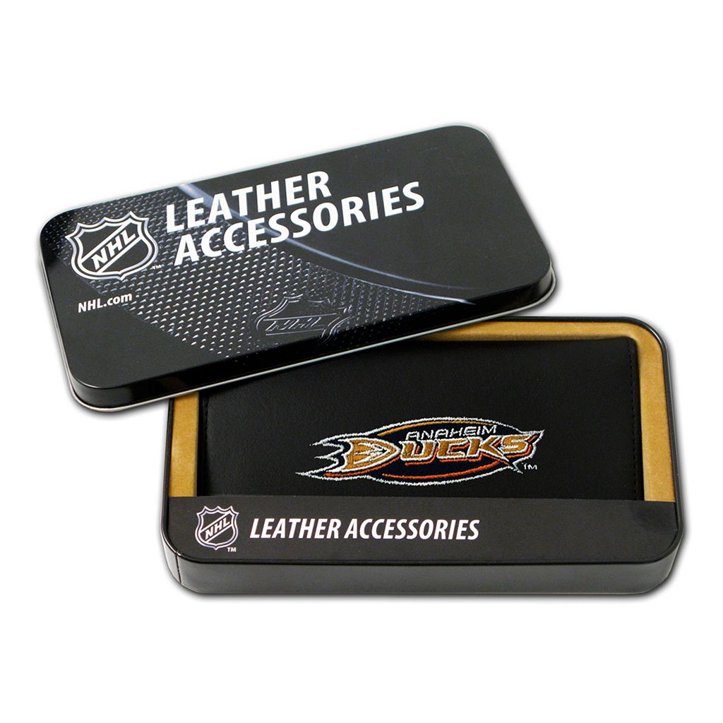 Anaheim Ducks Leather Trifold Wallet