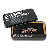 Anaheim Ducks Leather Trifold Wallet