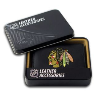 Chicago Blackhawks Leather Trifold Wallet