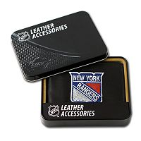 New York Rangers Leather Trifold Wallet