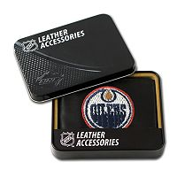 Edmonton Oilers Trifold Leather Wallet