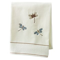 Home Classics® Shalimar Dragonfly Bath Towel