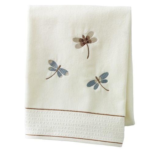 Home Classics® Shalimar Dragonfly Bath Towel
