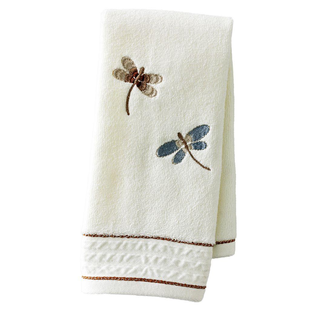 Home Classics® Shalimar Dragonfly Fingertip Towel