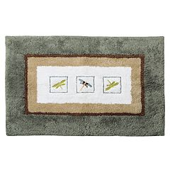 Home Clics Shalimar Dragonfly Bath Rug