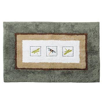 Home Classics® Shalimar Dragonfly Bath Rug