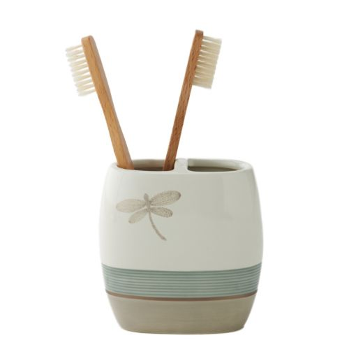Home Classics® Shalimar Dragonfly Toothbrush Holder