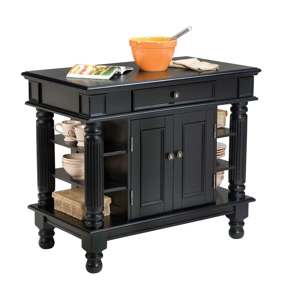 Black Cabinet Kitchen Island