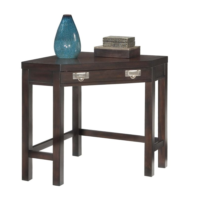 City Chic Corner Computer Desk, Brown