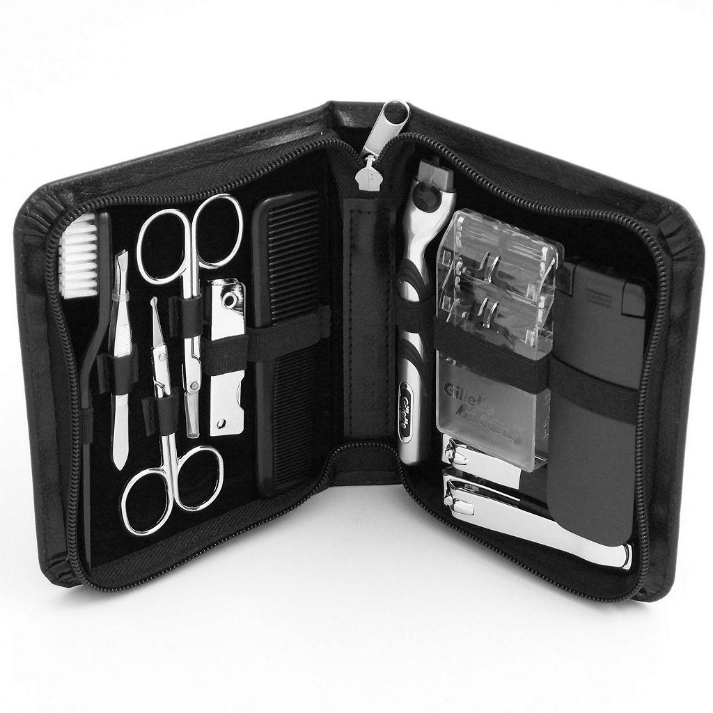 11-pc. Manicure& Shave Set