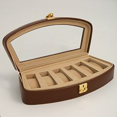 Glass Top Watch Case