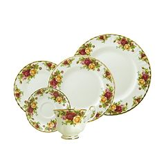 Royal Albert Old Country Roses 5 pc Place Setting