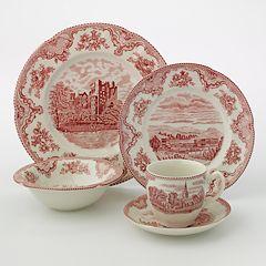 Johnson Brothers 20-pc. Red Castle Dinnerware Set
