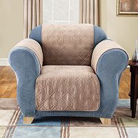 Sure Fit Furniture Friend Faux-Suede Chair Pet Cover