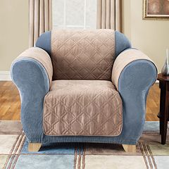 Sure Fit Furniture Friend Faux-Suede Chair Pet Cover